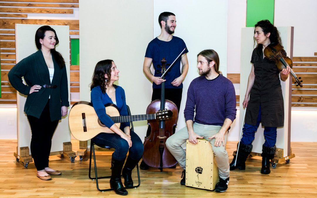 David Eres Brun & the Maria Camahort Quintet