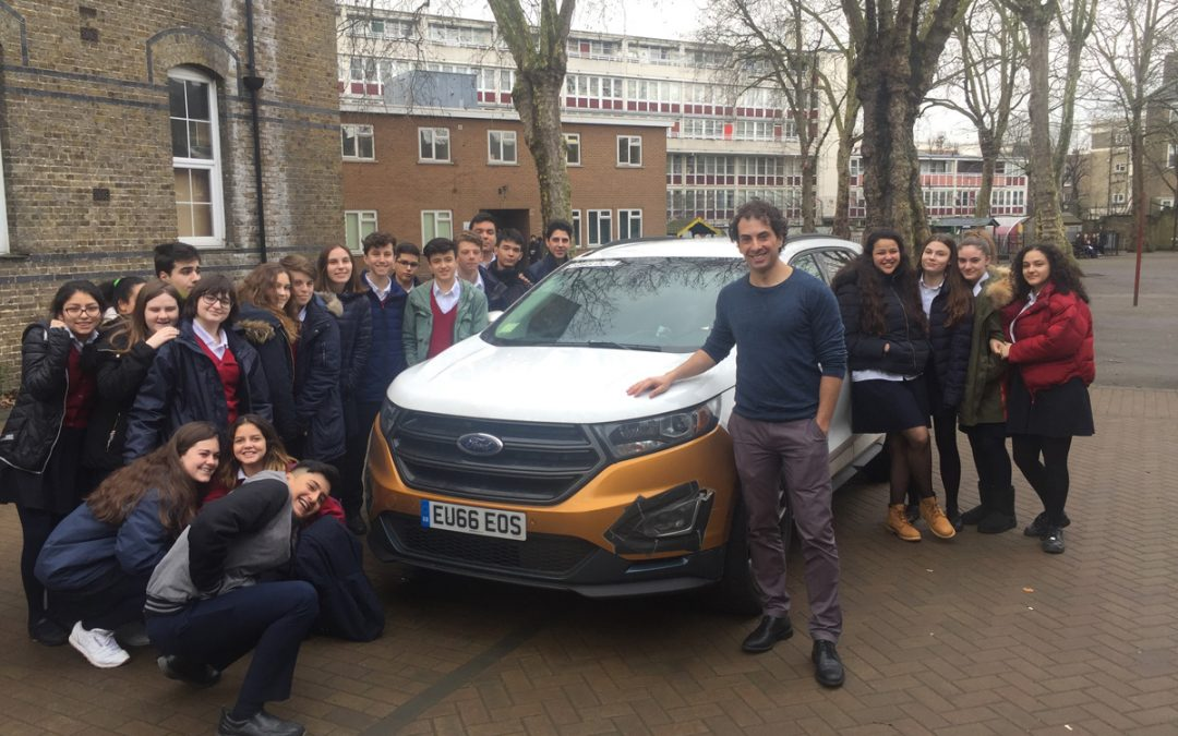 The future of diesel engines in a new 'Science in the Classroom' session