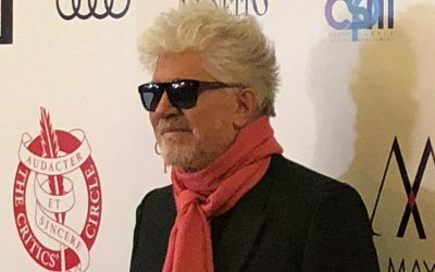 Pedro Almodóvar receives in London The Dilys Powell Award, Excellence in Film, in the 39th London Critics´ Circle Films Awards edition.