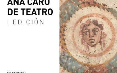 I PREMIO ANA CARO DE TEATRO 2019