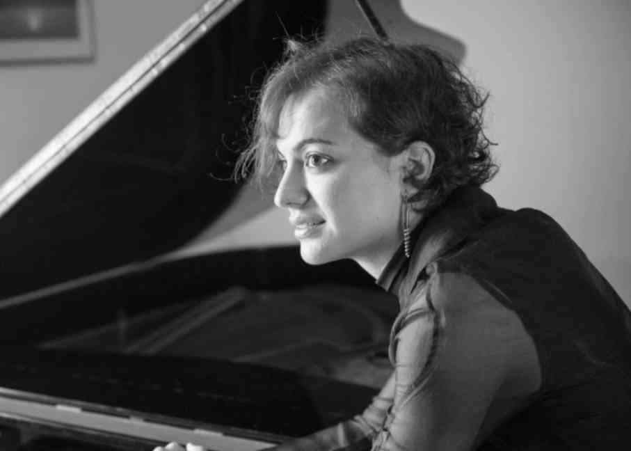 Maria Canyigueral on the keys