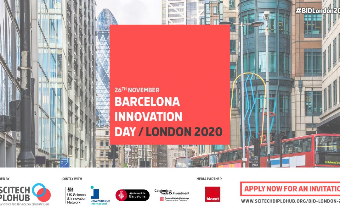 The Barcelona Innovation Day/London 2020
